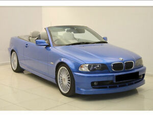 Iconic Bmw Alpina B3 3 3 Bmw 3 Series Based M3 E46 Convertible