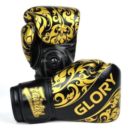 Fairtex Bgvg2 Glory Tribal Boxing Gloves Black