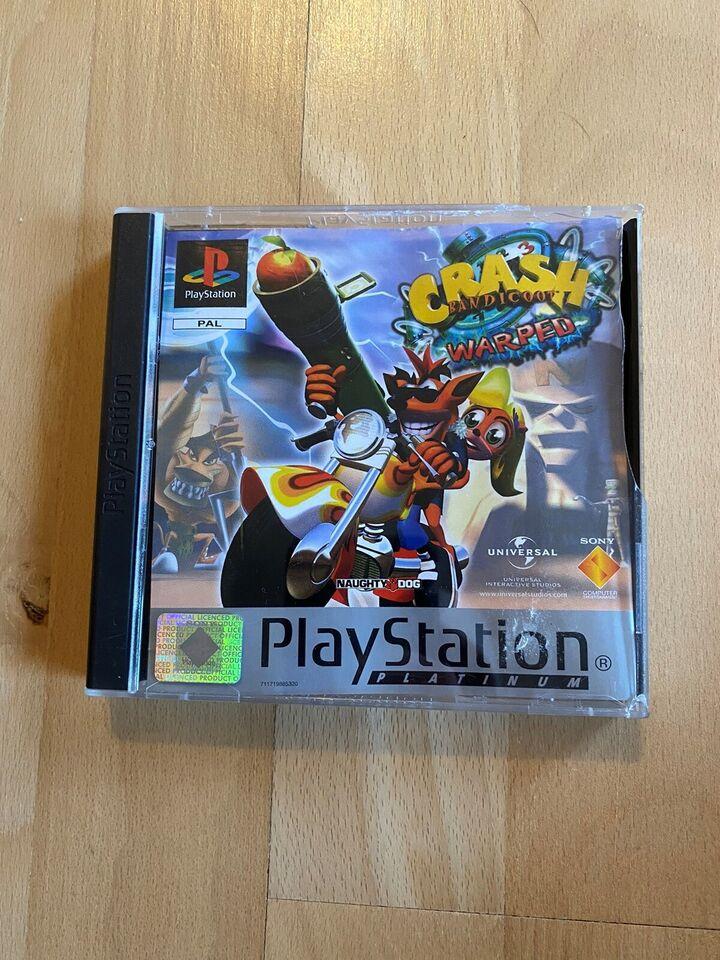 Crash Bandicoot: Warped(Platinum), PS2, racing