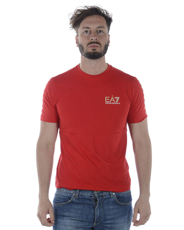 Emporio Armani EA7 T hemd schweißhemd Man rot 3ZPT87PJ02Z 1451 Sz. XL PUT OFFER