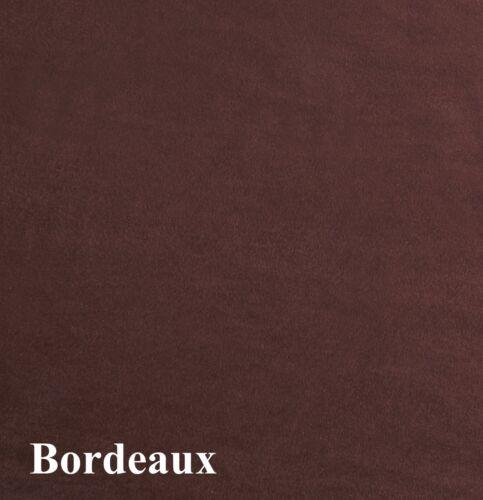 Nuevo 100/% Poliéster Material De Tela De Ante De Imitación Artesanía acolchado en 8 Colores Gran