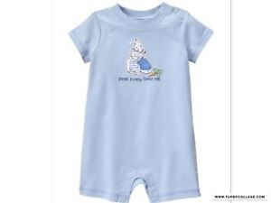 a998f52e08b3 Image is loading NEW-GYMBOREE-EASTER-PETER-RABBIT-ONE-PIECE-OUTFIT-