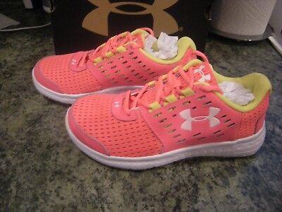 New Girls Pink \u0026 Yellow Under Armour