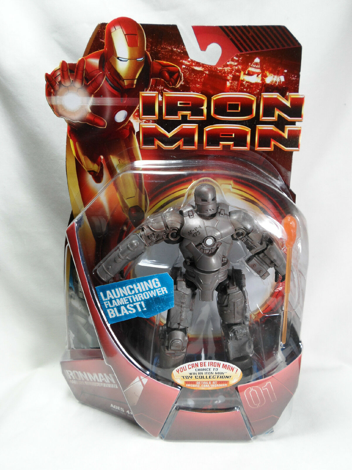 Iron Man Mark 01 Figure Marvel New Sealed Nsrrvc3083 Comic Book