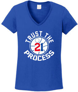Red Embiid Philadelphia Trust The Process T-Shirt