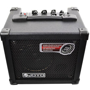 joyo dc 15 15w digital guitar amplifier with delay reverb effect 36 pattern drum ebay. Black Bedroom Furniture Sets. Home Design Ideas