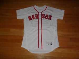 reputable site 8e9f4 c6ded Details about Boston Red Sox David Price White Home Jersey MLB Majestic  Flex Base-- Size 44