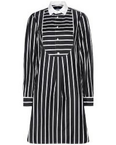 7a633ca62 Image is loading Polo-Ralph-Lauren-Women-Striped-Poplin-Shirtdress-Dress-