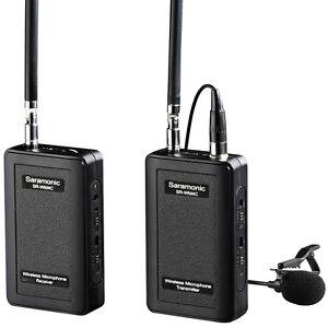 saramonic wm4c wireless 4 channel vhf lavalier microphone system for dslr camera ebay. Black Bedroom Furniture Sets. Home Design Ideas