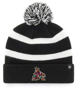 ARIZONA-PHOENIX-COYOTES-NHL-BREAKAWAY-THROWBACK-LOGO-47-KNIT-BEANIE-CAP-HAT-NWT