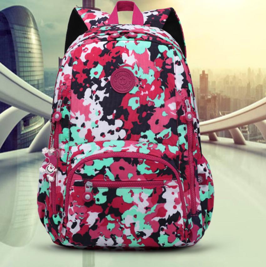 New Backpack Women Travel Bookbags School Bags Teenage girls Shoulder Laptop
