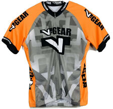 Verge Women/'s TOR+FL Short Sleeve Aero Cycling Jersey 2XL Black//Orange New
