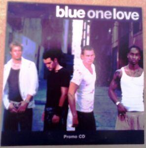 Blue One Love CD single