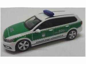 Herpa-929455-VW-Passat-b8-pulgadas-detiene-trabajo-negro-ECT-1-87-coleccion-nuevo