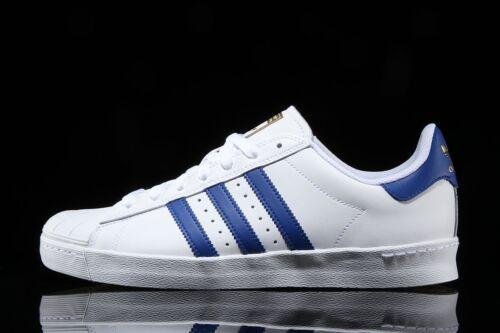 save off 11f8f 67048 12 Bianco Superstar Adidas da da Scarpe 5 Blu Vulc Mens By3944 a ginnastica  6 Uk oro ...