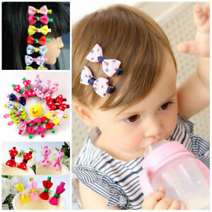 10pcs-lot-Girls-Hairpins-Kids-Hair-Clip-Children-baby-accessories-bows-clips