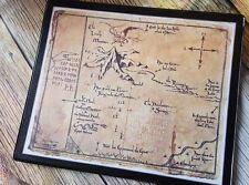 Hobbit Thorin's map Thror Flexible Mousemat - Mouse Mat Pad PC Computer