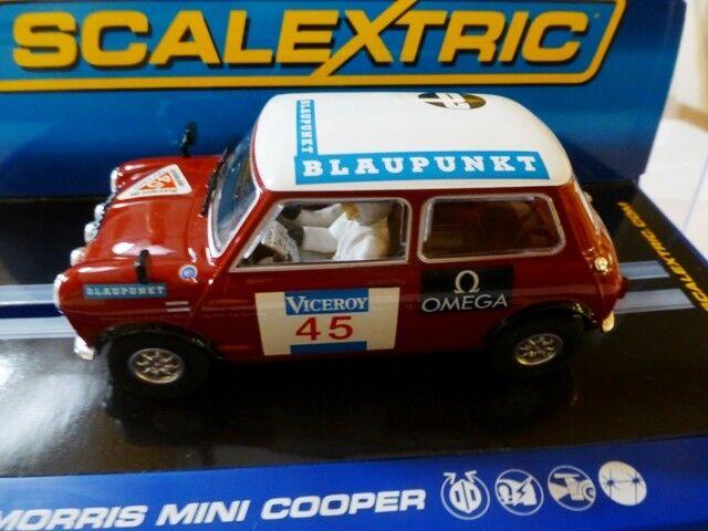 SCALEXTRIC Morris MINI COOPER 1000 Lakes NO.45 Ref.C3100 NEW in  BOX