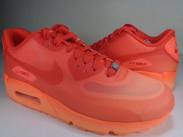 Womens Nike Air Max 90 HYP QS Milan Hyperfuse Hyper Orange SZ 6 (813151 800)