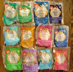 57a15462c41 1999--TY TEENIE BEANIE BABIES (Complete SET of 12 Toys) by ...