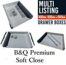 800mm Cooke /& Lewis Premium Framed Soft Close Drawer Box W