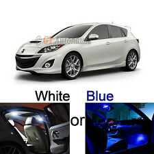2010 and up 6-Light LED Full Interior Lights Package Deal for Mazda3 Mazdaspeed3