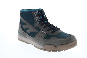 Hi-Tec Sierra Lite 23170 Womens Gray Suede Lace Up Hiking Boots