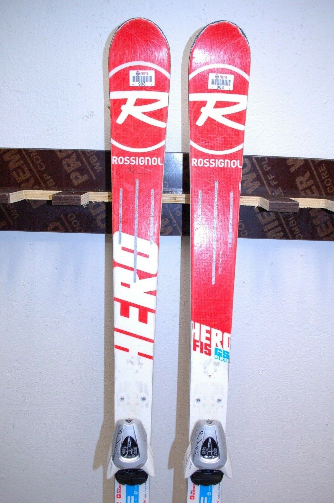 Rossignol Hero FIS GS Pro 144 cm Ski + Salomon L 39 Bindings