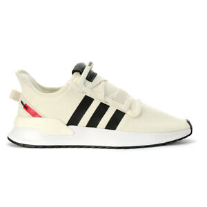 Adidas Men's U_Path Run Off White/Core Black/Shock Red Running Shoes EE4465 NEW