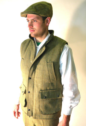 Xxl Verde Nuovo Derby Tweed Xl L Panciotto Uomo 3xl S English Classico M Country TqrAqI7wx