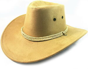 Leather Hat Cap Cowboy Mens Western NEW Large Womens