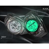 SYNOKE Mens LED Digital Date Alarm 5ATM Waterproof Sports Watch Wristwatch 1Q0T