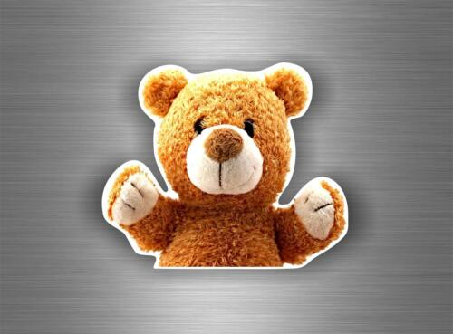 Autocollant sticker voiture moto macbook decoration nounours ted bear peluche