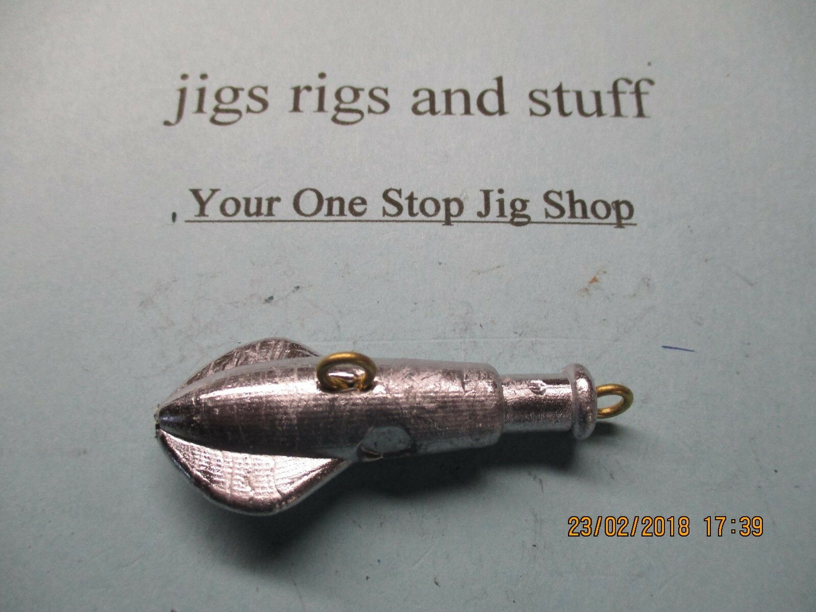 Squid head head Squid  jigs PAINTED - Swing hook- parachute head 9af1b9