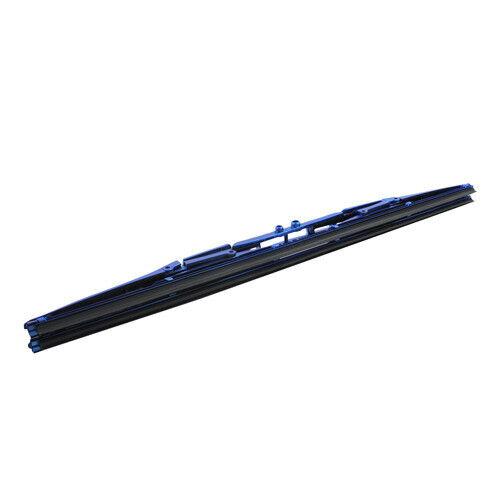"1x Universal Arista 20/"" Anodized Blue Silicone Blade Windshield Wiper Blade"