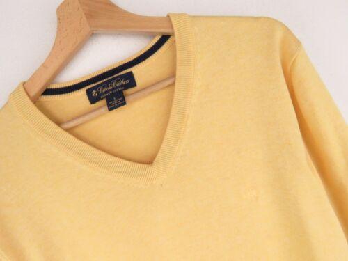 a Brothers scollo Brooks V con Maglione Premium Ku1865 Taglia Originale L giallo qXOgxw5q