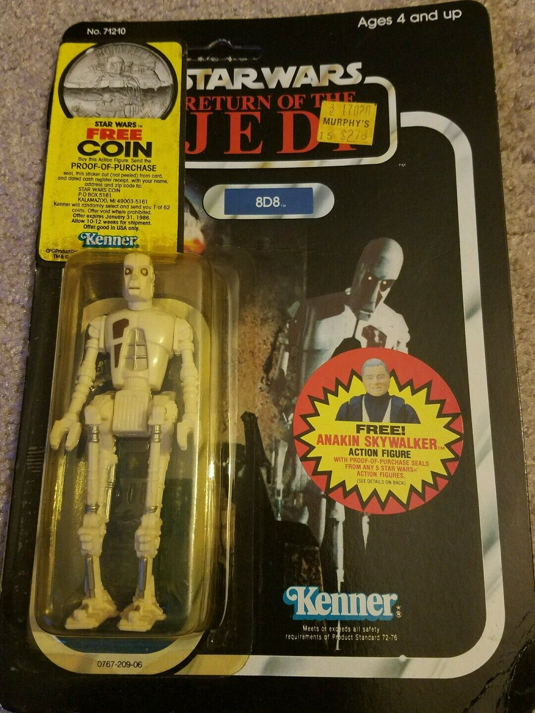 Kenner Star Wars 8D8 vintage action figurine