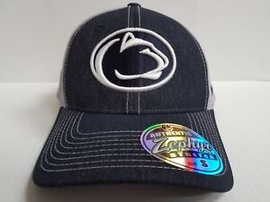 b1c7984a899066 Penn State Nittany Lions Cap Zephyr Stretch Fit Fitted Heathered ...