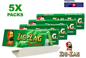 5-Packs-Zig-Zag-Green-Rolling-Papers