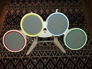 Rockband-Harmonix-19092-Wired-USB-Nintendo-Wii-Drum-Set-Controller-No-Pedal