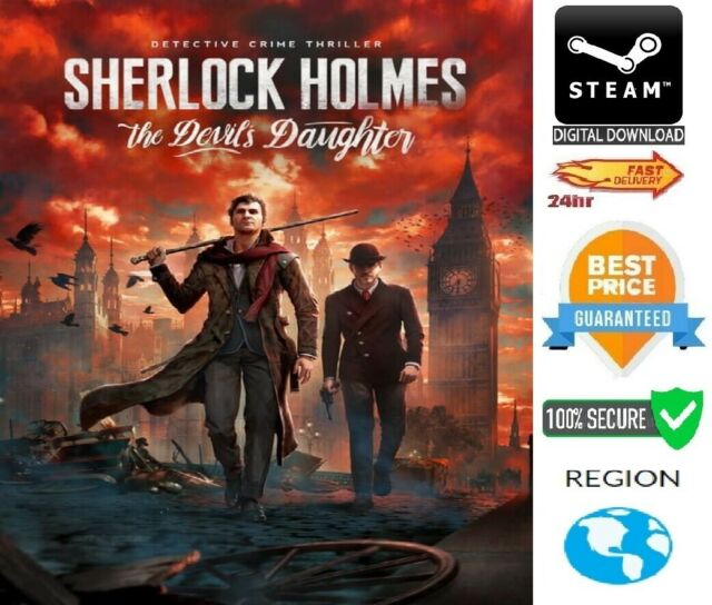 Sherlock Holmes The Devil S Daughter Pc Steam Download Fast Delivery Ebay