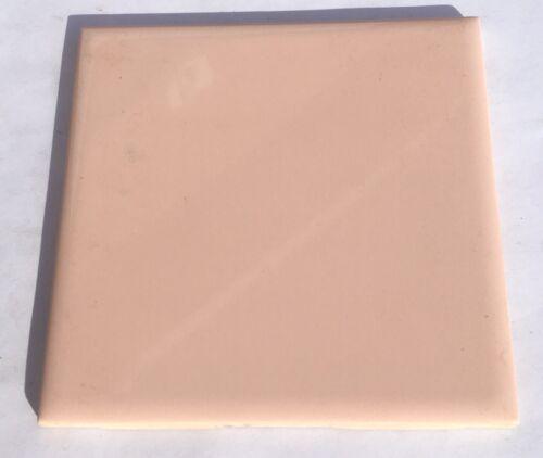 Surplus 1 Sq Ft 4x4 Vintage Tile in Peach//Coral /'Cedit Italy/'