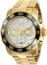 Invicta Pro Diver 22229 Gold Stainless Steel Analog Quartz Men's Watch 50mm