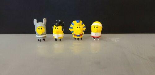 4 Peças De Alta Qualidade microsize Mistério Doodle Jump Figura De Ação Em Pvc Coleção