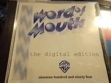 CD WORD OF MOUTH DIGITAL SHADOWFAX BOB JAMES RARE/MINT!