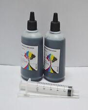 Non-OEM UV Resistant Bulk black refill ink for Epson NX430 WorkForce 630 633 635