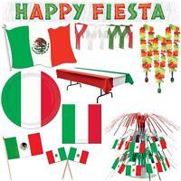 Mexiko Party Dekoration Mexikanische Mottoparty Fiesta Mexicana Mexico Deko Set