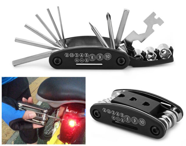 15 in 1 Multi-function Bicycle Repair Tool Set Cycling Necessary