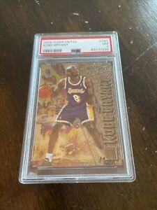 1996 Fleer Metal #181 KOBE BRYANT Lakers RC Rookie Card HOF PSA 7 NM