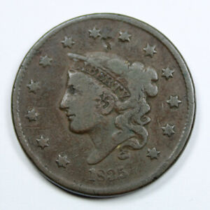 Piece-Etats-Unis-USA-1-Cent-Coronet-Matron-1835-Rare